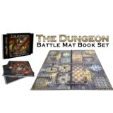 The Dungeon Books of Battle Mats (2 Book Set)